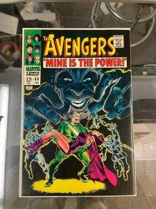 Avengers 49 VF/VF+  (Feb. 1986)
