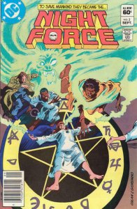 Night Force #2 (Newsstand) VG; DC | low grade comic - save on shipping - details