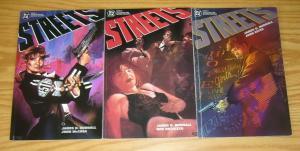 Streets #1-3 VF/NM complete series JAMES HUDNALL dc comics - prestige format 2