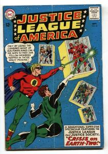 Justice League Of America #22 1963- Justics Society JSA Earth 2 VG