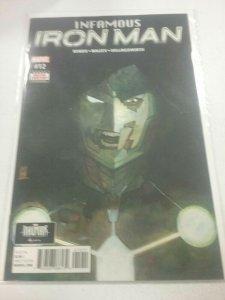 Infamous Iron Man #12 Marvel Comics 1st Print NW46