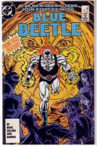 Blue Beetle   (DC vol. 1)   #13 VG Wein/Cullins, New Teen Titans