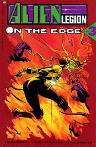 Alien Legion: On the Edge #3 VF/NM; Epic   save on shipping - details inside