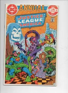 JUSTICE LEAGUE OF AMERICA #1 Annual, VF/NM, Wonder Woman, , Superman, DC 1983