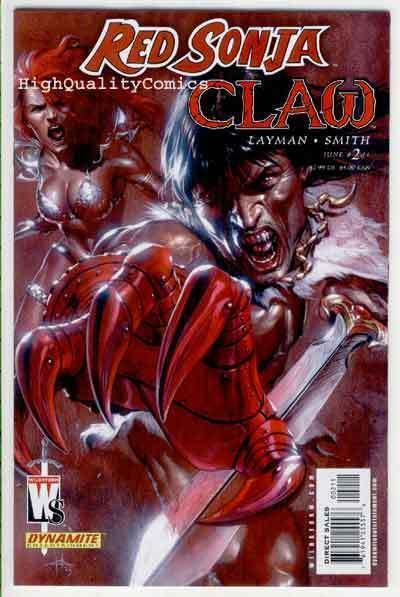 RED SONJA / RED CLAW #2, NM, She-Devil, Sword, Femme Fatale, more RS in store