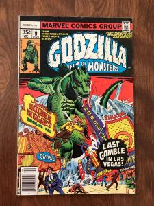 Godzilla: King of the Monsters #9 (Marvel; April, 1978) - Fine
