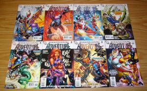 Countdown to Adventure #1-8 VF/NM complete series - animal man - adam strange
