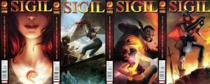SIGIL 2011 vol.2 1A-4  the COMPLETE 2nd series!