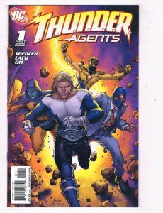 Thunder Agents #1 VF/NM DC Comics Comic Book Spencer Jan 2011 DE46