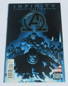 Infinity New Avengers #9 NM/NM- High Grade Comic Thanos 1st Full Black Order