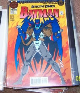 Detective Comics # 675 (Jun 1994, DC) batman azrael robin knight quest