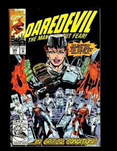 10 Daredevil Marvel Comic Books #257 273 291 292 293 297 298 299 300 306 HY2