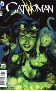 Catwoman 44 Green Lantern 75th Variant  9.0 or better (our highest grade)
