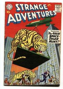 Strange Adventures #115 1960- Tiger cover- DC Comics-VG