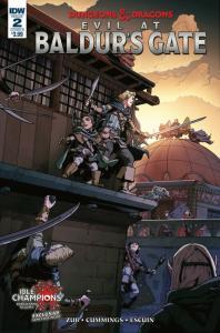 Dungeons & Dragons Evil At Baldurs Gate #2 Cvr B (IDW, 2018) NM