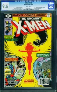X-men #125 cgc 9.6-phoenix cover-mutant X-comic book 0272285011
