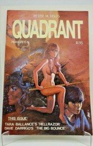 Peter Hsu's QUADRANT Comic Book #6 (1984) Malibu Comics
