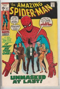 Amazing Spider-Man #87 (Aug-70) FN+ Mid-High-Grade Spider-Man