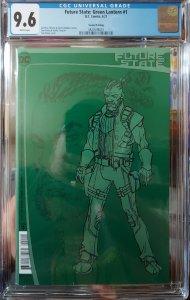 Future State Green Lantern #1 CGC 9.6 2nd Print