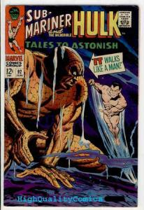 TALES To ASTONISH 92, VF-, Sub-Mariner, 1st Silver Surfer, more TTA in store