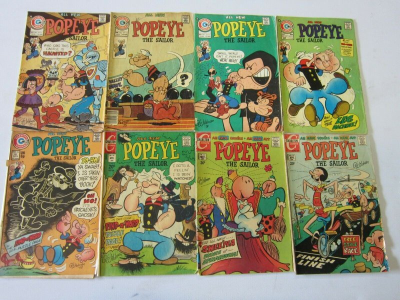 Popeye comic lot 22 different 4.0 VG
