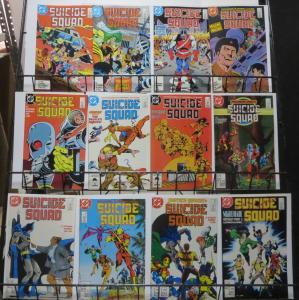 SUICIDE SQUAD (1987) #2-11,13,14 F-VF. Deadshot, Batman, Justice League,Boomer