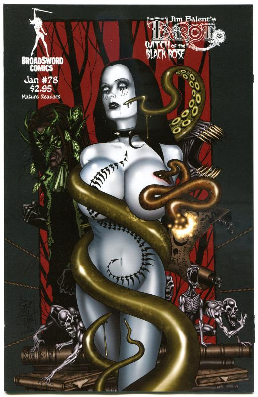 TAROT WITCH of the Black Rose #78, Jim Balent, NM, Holly, more in our store,  B