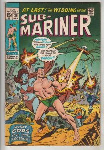 Sub-Mariner #36 (Apr-71) NM- High-Grade Sub-Mariner (Prince Namor)