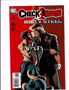 Lot Of 8 Checkmate DC Comic Books # 9 10 11 13 14 15 16 17 Batman Superman J212