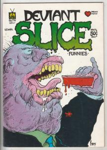 Deviant Slice #1 (Jan-72) VF- High-Grade Richard Nixon,Sgt Smack and Easy Co....