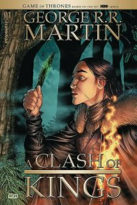 GEORGE RR MARTIN A CLASH OF KINGS (2019 DYNAMITE) #1 All 9 Covers PRESALE-01/29