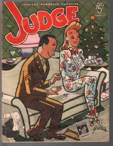 Judge 1/1945-jokes & cartoons- WWII era issue-Bill Wenzel-James Gibson-VG