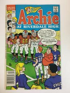 ARCHIE AT RIVERDALE HIGH (1972-1987)112 VF-NM  Dec 1986 COMICS BOOK