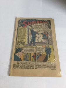 Superman 152 Coverless DC Comics Silver Age