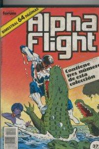 Alpha Flight volumen 1 retapado numero 36 al 40