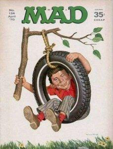 Mad (1952 series) #134, Good+ (Stock photo)