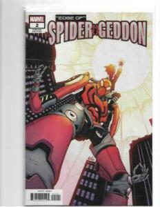 EDGE OF SPIDER-GEDDON #2 CULLY HAMNER VARIANT NM/NM+ SOLD OUT - HOT