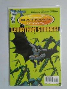 Batman Incorporated Leviathan Strikes #1 minimum 9.0 NM (2012)
