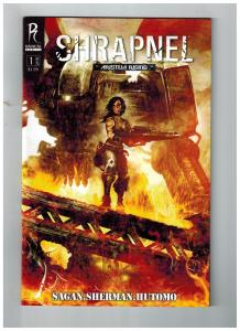 Shrapnel # 1 Of 5 VF Radical Comics Comic Book Aristeia Rising Sagan Series S75