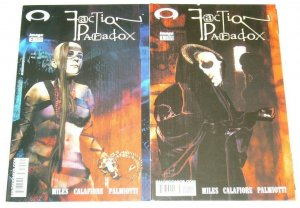 Faction Paradox #1-2 FN/VF complete series LAWRENCE MILES jim calafiore 2003 set