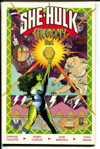 She-Hulk: Ceremony-Part 1-Dwayne McDuffie