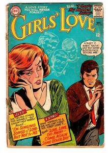 GIRLS' LOVE STORIES #114 comic book-DC ROMANCE-GREAT COVER