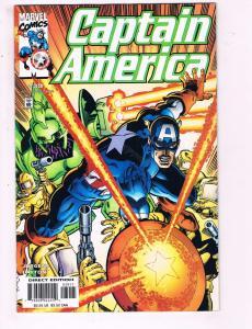 Captain America #39 VF Marvel Comics Comic Book Jurgens 2001 DE11