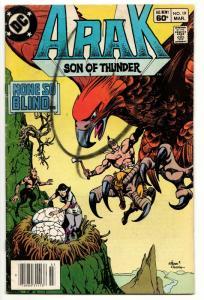 Arak Son of Thunder #19 (DC, 1983) VG
