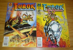 Turok: the Hunted #1-2 VF/NM complete series MIKE GRELL furman MIKE DEODATO