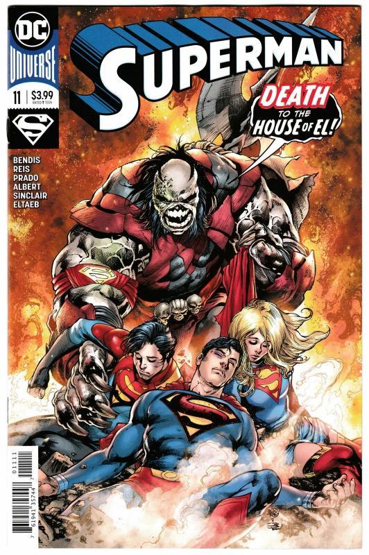 Superman #11 Main Cvr (DC, 2019) NM