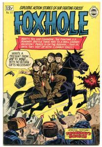 Foxhole #17 1964-Korean War comic- Golden Age comic reprint- VF