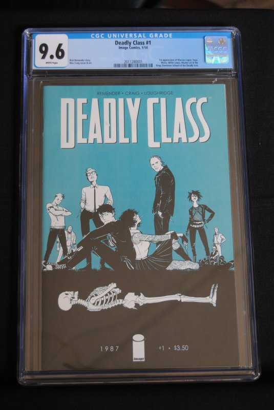 Deadly Class #1, 9.6, Low Print Run! Hot!