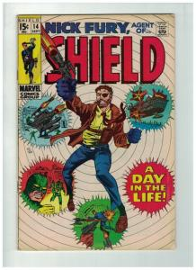 NICK FURY AGENT OF SHIELD 14 VG Sept. 1969
