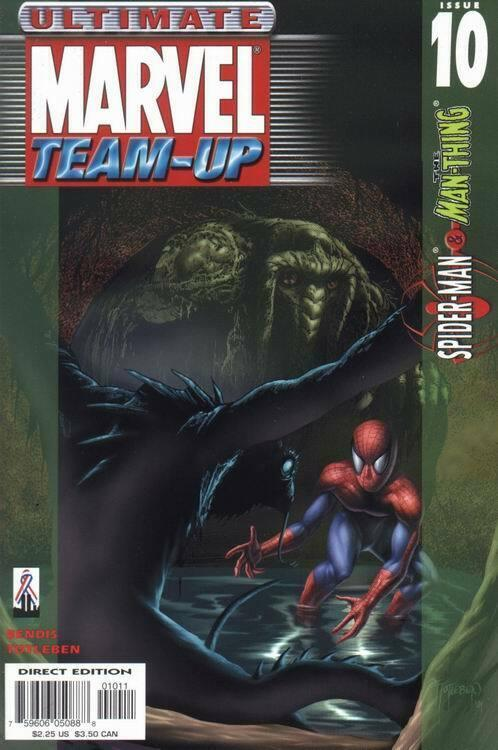 ULTIMATE MARVEL TEAM-UP (2001 MARVEL) #10 NM- AGSLMZ